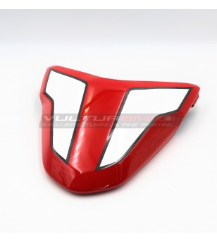 Painted carbon saddle cover - Ducati Supersport 939 / 950