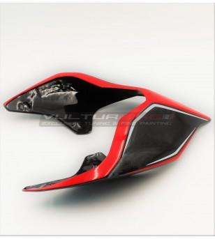 Codino in carbonio color design - Ducati Panigale V4 / V4S / V4R / V2 / Streetfighter V4