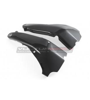 Carbon frame protector set - Ducati Streetfighter V4 / V4S