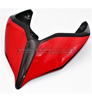 Coda in carbonio design personalizzato - Ducati Panigale V4 / V4S / V4R / V2 2020 / Streetfighter V4