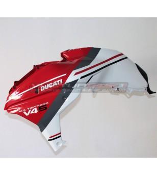 Tank cover + original Ducati side panels - Multistrada V4
