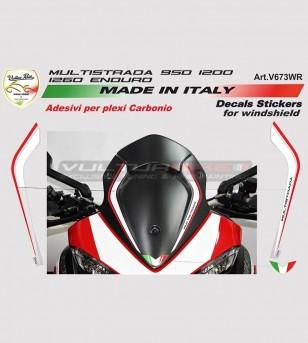 Adesivi cupolino Multistrada - Ducati Multistrada 950/1200/1260/Enduro