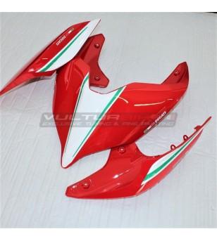 Italian tricolor design tail stickers - Ducati Streetfighter V4 / V4S