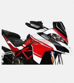Exclusive design red stickers kit - Ducati Multistrada 1200 2015