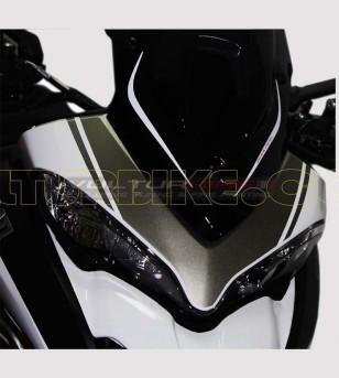 Kit adhésif graphite design exclusif - Ducati Multistrada 1200 2015