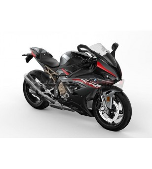 Red red stickers kit black - BMW S1000RR 2019 / 2021