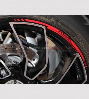 Adesivi profili per ruote - Ducati XDiavel