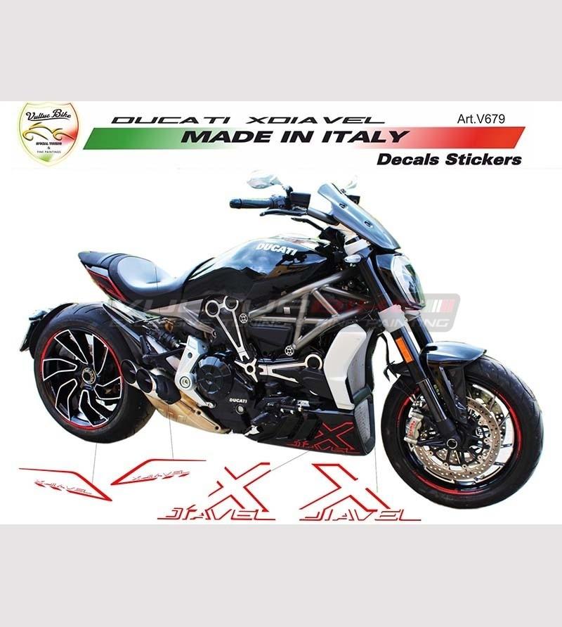 Kits de pegatinas personalizables - Ducati XDiavel