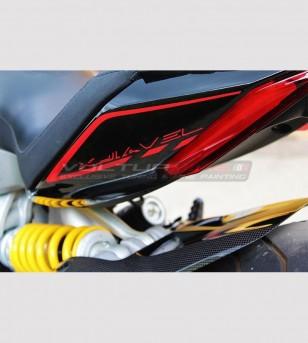 Kit adesivi personalizzabili con profili ruote - Ducati XDiavel