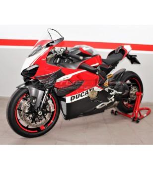 Custom carbon upper fairing set - Ducati Panigale V4 / V4S / V4R
