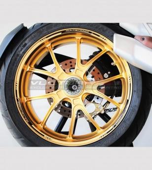 Adesivi profili per ruote - Ducati Multistrada tutti i modelli