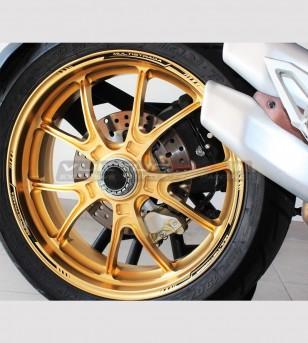 Adhesive profiles for wheels - Ducati Multistrada all models