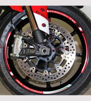 Adhesive profiles special kit for wheels - Ducati Multistrada 1200/1260