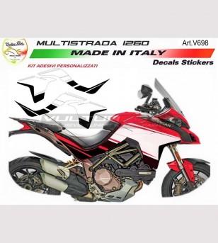 Kit adesivi design inedito - Ducati Multistrada 1260