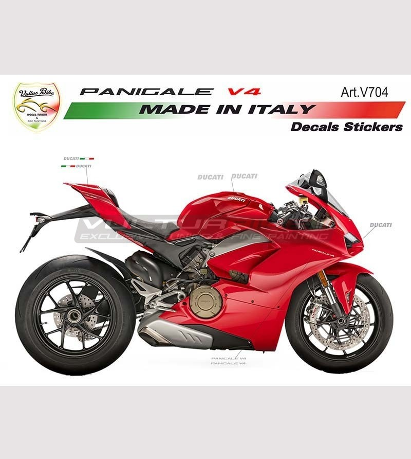 Stickers' kit basic version - Ducati Panigale V4