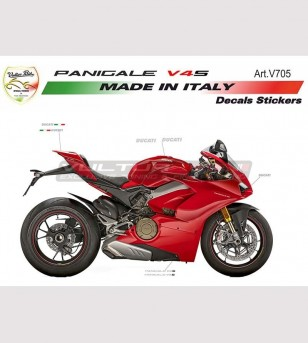 Kit adesivi completo design originale - Ducati Panigale V4S