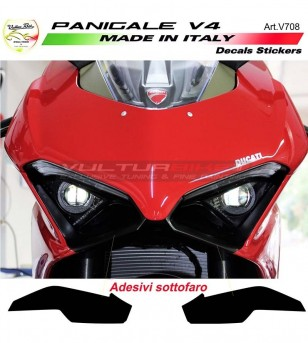 Under headlights' stickers - Ducati Panigale V4 / V4R