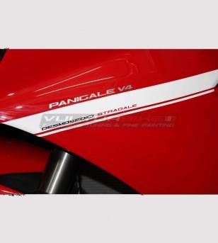 Kit adhésif pour carénages design exclusif - Ducati Panigale V4 / V4S / V4R