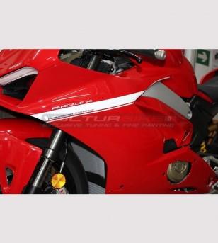 Kit adhesivo para carenado de diseño exclusivos - Ducati Panigale V4 / V4S / V4R