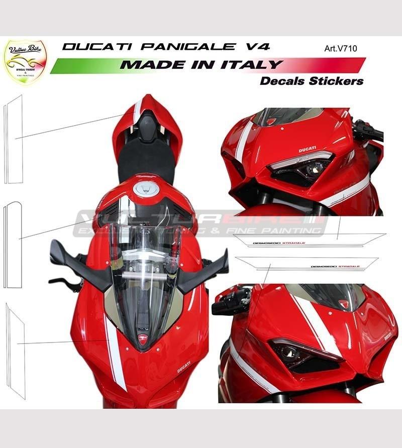 Kit adesivi per carene design esclusivo - Ducati Panigale V4 / V4S / V4R