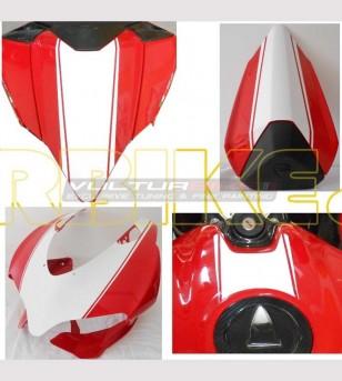 Pegatinas para domo, cola y tanque - Ducati Panigale 899/1199