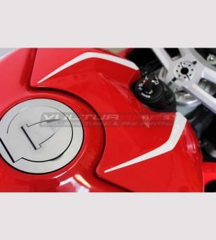 2 Pegatinas de cubierta de tanque - Ducati Panigale V4 / V4S / V4R