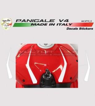 2 Adesivi per cover serbatoio - Ducati Panigale V4 / V4S / V4R