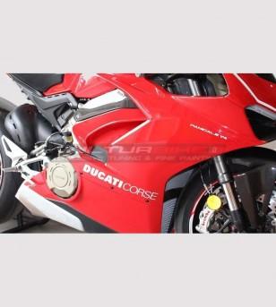 2 Aufkleber für Seitenverkleidungen - Ducati Panigale V4