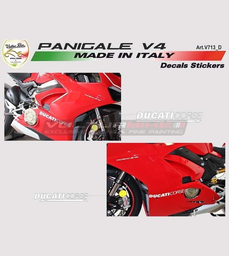 2 Adesivi per carene laterali - Ducati Panigale V4