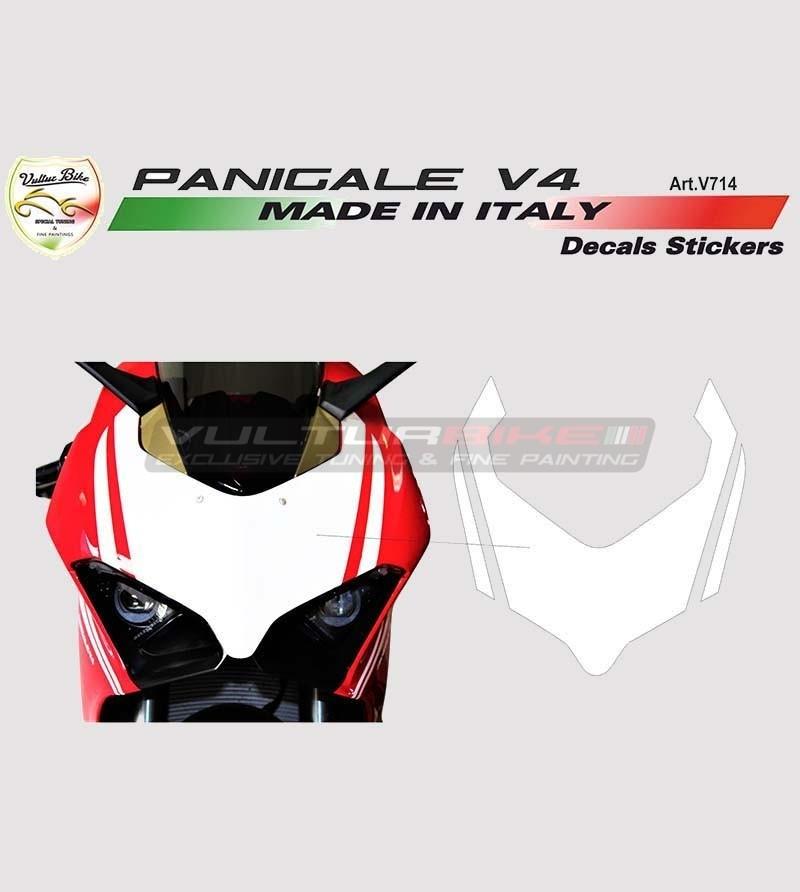 Adesivo per cupolino stradale o racing - Ducati Panigale  V4 / V4S / V4R