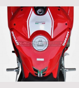 Customized sticker for tank's cover - Ducati Panigale V4 / V4R