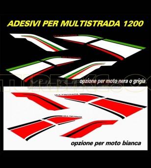 Pegatinas laterales de carenada - Ducati Multistrada 1200