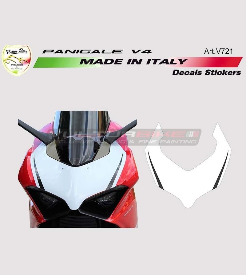 Front fairing sticker Exclusive design - Ducati Panigale V4