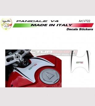 Pegatina de cubierta del tanque Diseño exclusivo - Ducati Panigale V4 / V4R