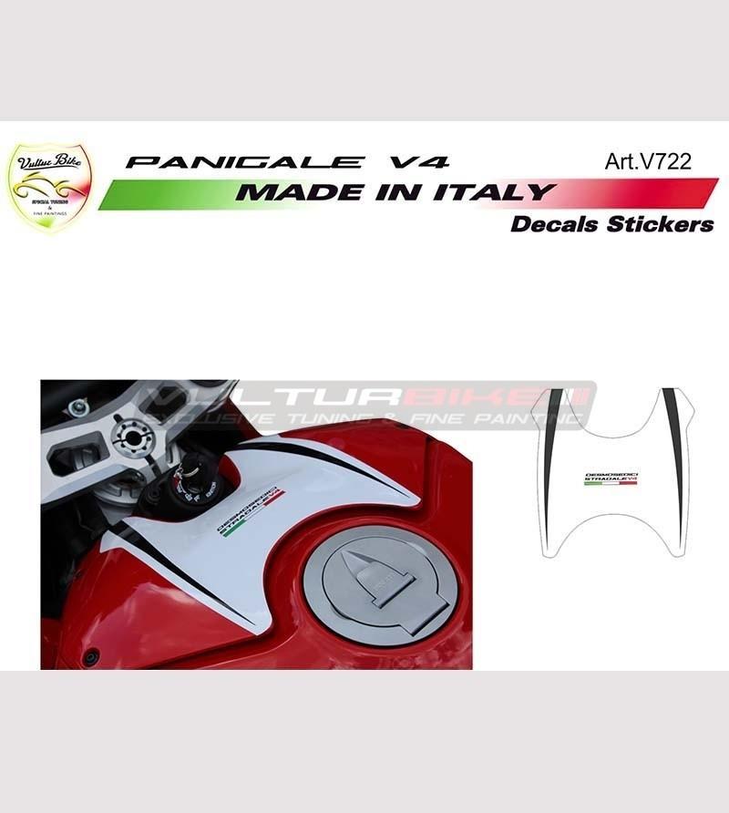 Sticker for tank's cover Exclusive design - Ducati Panigale V4 / V4R