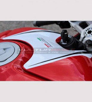 Sticker for tank's cover Exclusive design - Ducati Panigale V4 / V4R