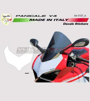 Front fairing number plate...