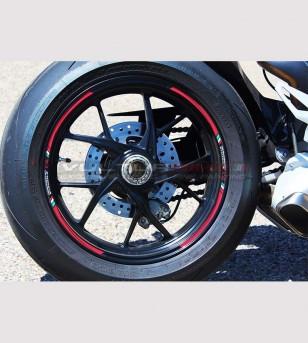Kit 9 Klebeprofile für Räder - Ducati Panigale v4 / V4R