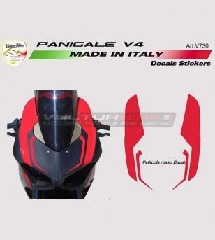 Front fairing stickers design Color - Ducati Panigale V4 / V4R