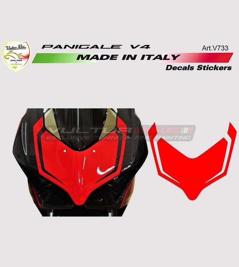 Customizable sticker for front fairing - Ducati Panigale V4 / V4R