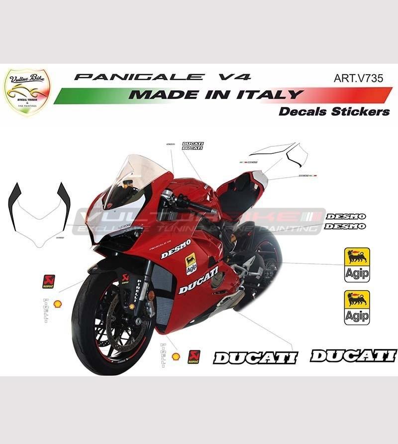Stickers' kit special design - Ducati Panigale V4 / V4R / V4S