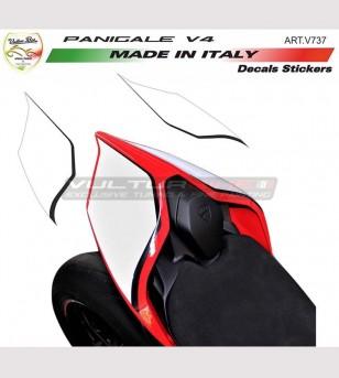 Pegatinas exclusivas de la cola de diseño - Ducati Panigale V4 / V4R