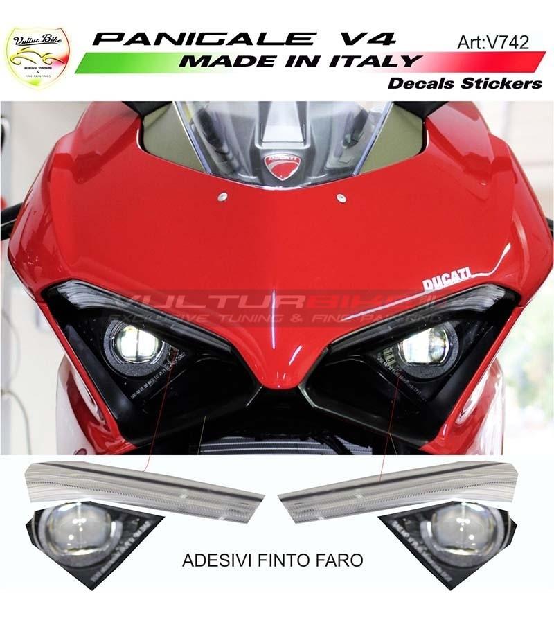 Headlight reproduction sticker - Ducati Panigale V4 / V4S / V4R
