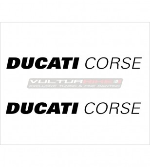 2 adesivi Ducati Corse varie dimensioni - Tutti i modelli Ducati