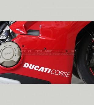 2 pegatinas Ducati Corse de varios tamaños - Todos los modelos ducati