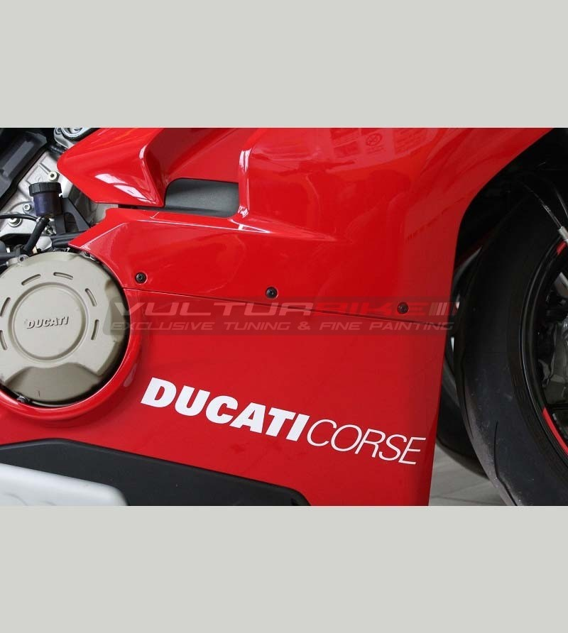 2 Ducati Corse stickers various sizes - All Ducati models