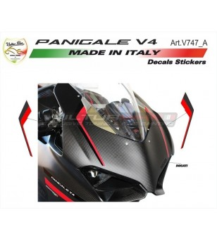 Adesivi cupolino special rosso-nero - Ducati Panigale V4 / V4S / V4R