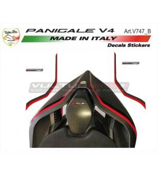 Adesivi codino special rosso-nero - Ducati Panigale  V4 / V4S / V4R