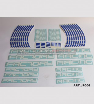 Pegatinas universales de color Factory Racing