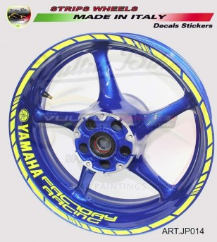 Adesivi Factory Racing fluo...